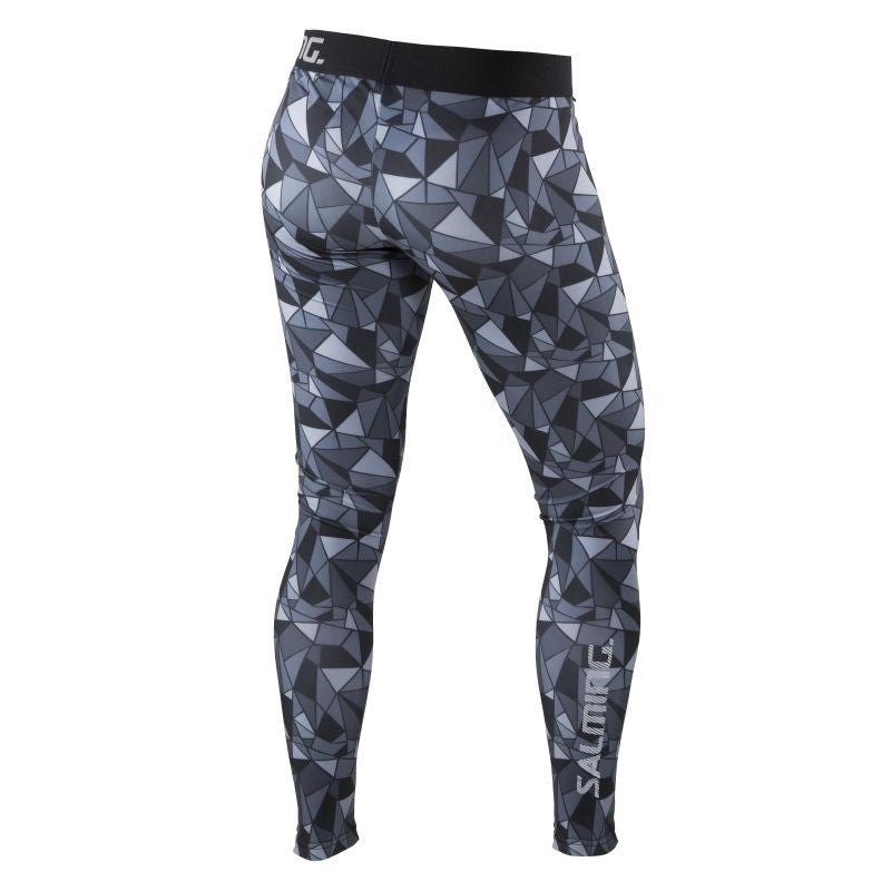 Run Flow Tights Women - Black/Grey