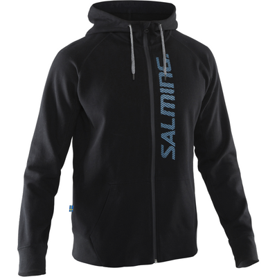 Salming Run Hood Men Black/Turquoise
