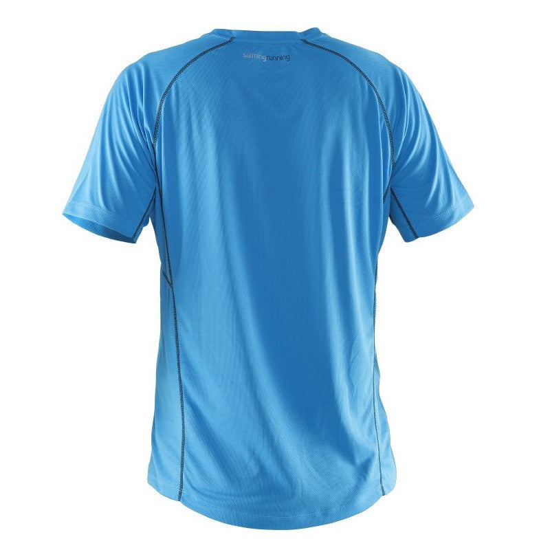 Salming SS Team Tee Men - Cyan Blue