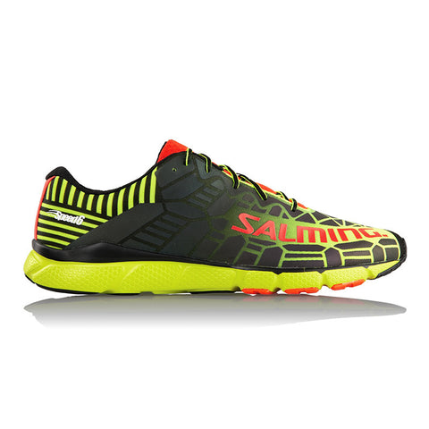 Salming Speed 6 Shoe - Fluorescent Yellow/Black