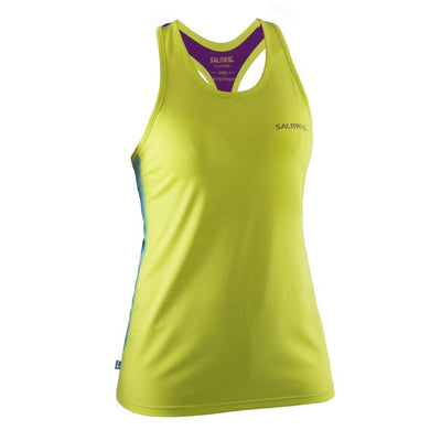 Salming T-back Tank Top - Lime/Turquoise/Purple