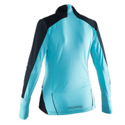 Salming Thermal Wind Jacket Women - Black/Turquoise