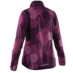 Salming Ultralite Jacket 2.0 Women - Azalea Pink/ Black Print