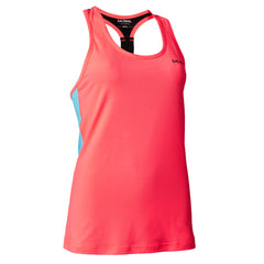 Salming T-back Tanktop Women - Coral/Light Blue