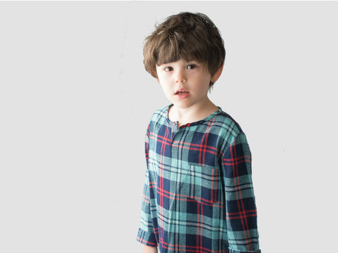 Long sleeve kurta by Boy + Girl