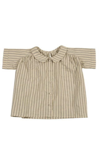 collared blouse by Rylee & Cru