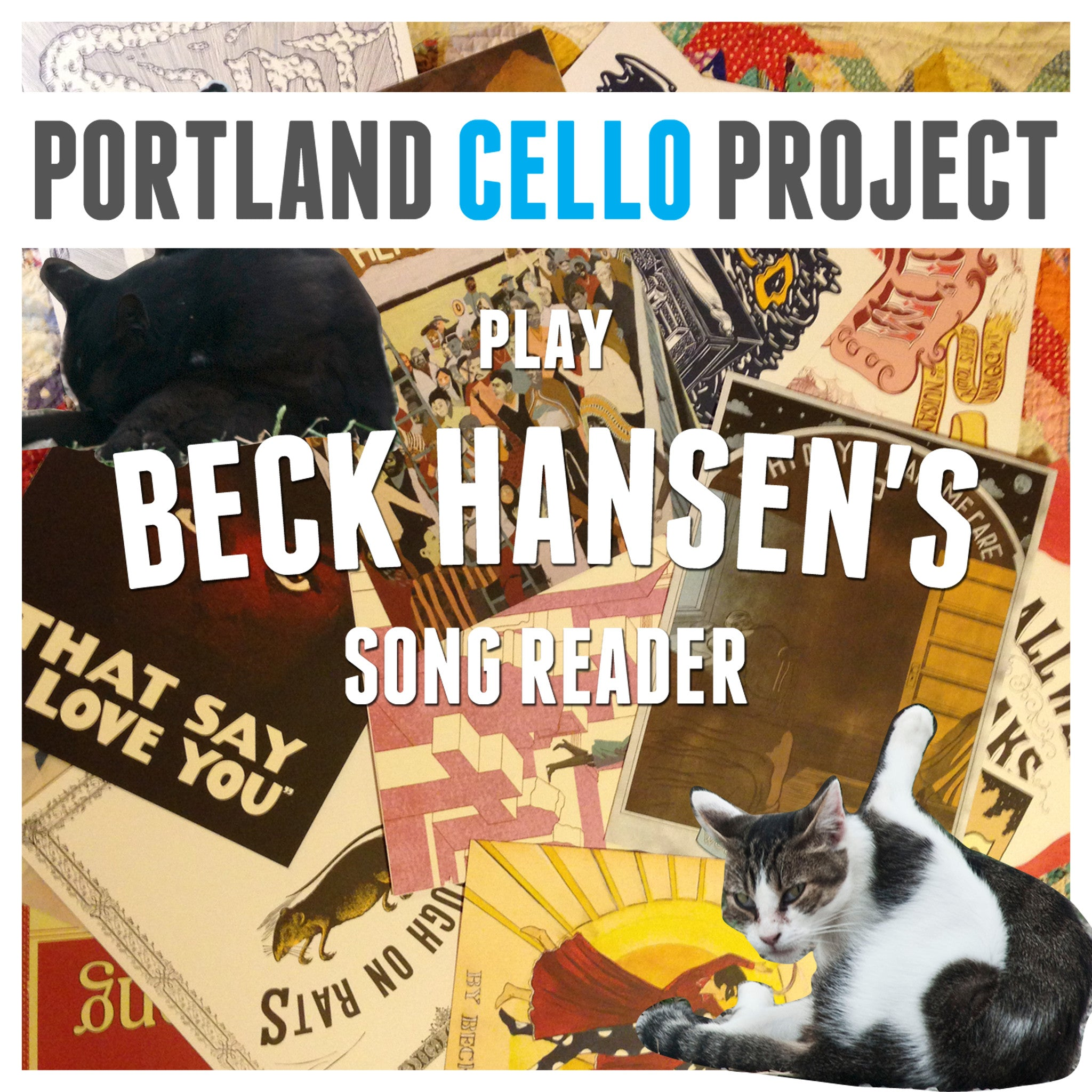 PCP Plays Beck Hansen's Song Reader -- Physical CD!