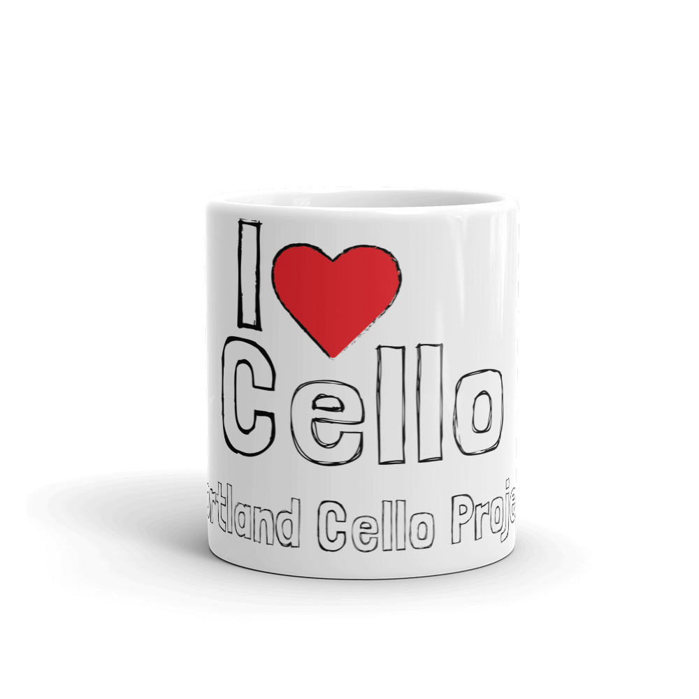 I Heart Cello Coffee Mug