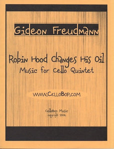 "Gideon Freudmann's ""Robin Hood Changes His Oil"" Sheet Music"