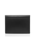 leather laptop case black