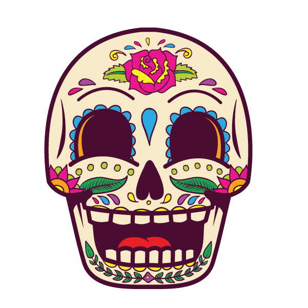 Candy Skull (Yellow) - Kromebody