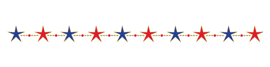 4th Of July: Stars Bracelet - Kromebody