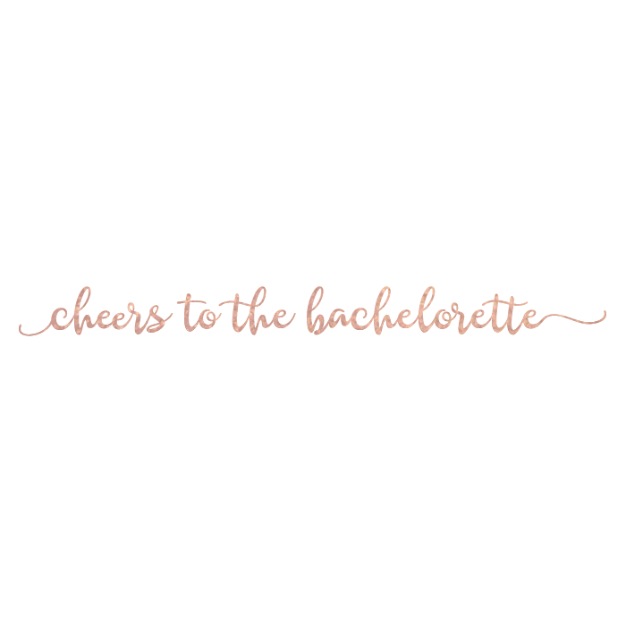 Cheers Bachelorette Bracelet - Kromebody