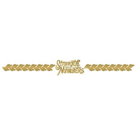 GSW Strength In Numbers Bracelet - Kromebody