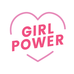 Girl Power Heart