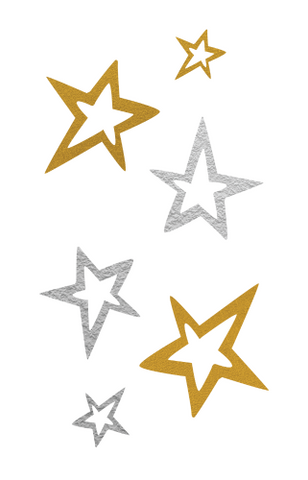 Gold and Silver Star
