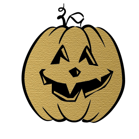 Halloween Party: Pumpkin (Gold)