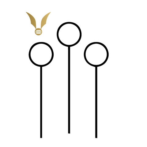Harry Potter: Quidditch (Black & Gold) - Kromebody