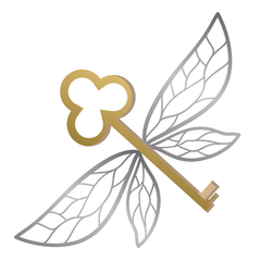 Harry Potter: Winged Flying Keys (Gold & Silver) - Kromebody
