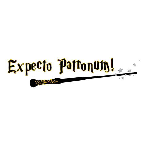 Harry Potter: expecto patronum magic wand (Silver) - Kromebody