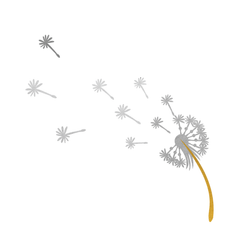 Dandelion (Gold and Silver)