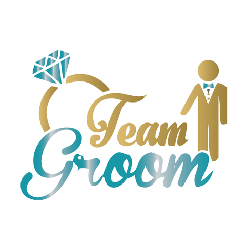 Team Groom - Gold/Teal Metallic - Kromebody