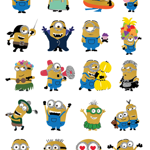 Despicable Me Minions - Large Sheet - Kromebody