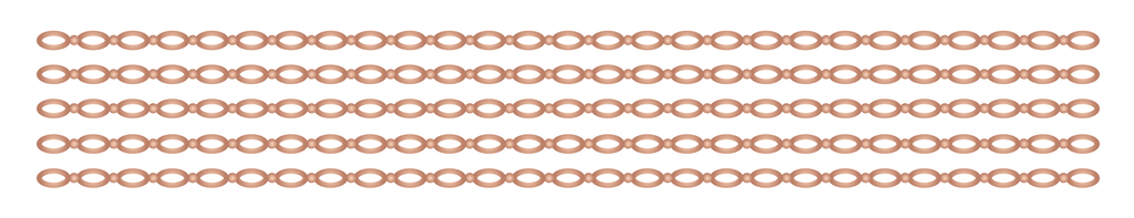 Rose Gold Chain Bracelet - Kromebody