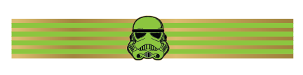 Star Wars: Stormtrooper Bracelet (Glow-In-The-Dark) - Kromebody