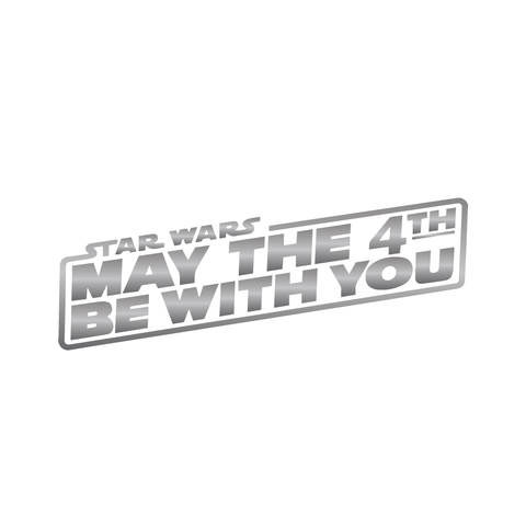 Star Wars: may the 4th be with you (Silver) - Kromebody