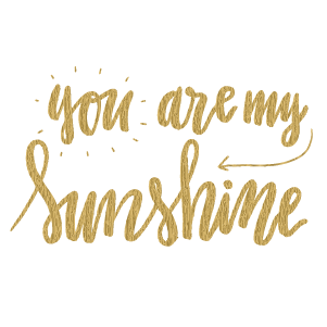 You are my sunshine (Gold) - Kromebody