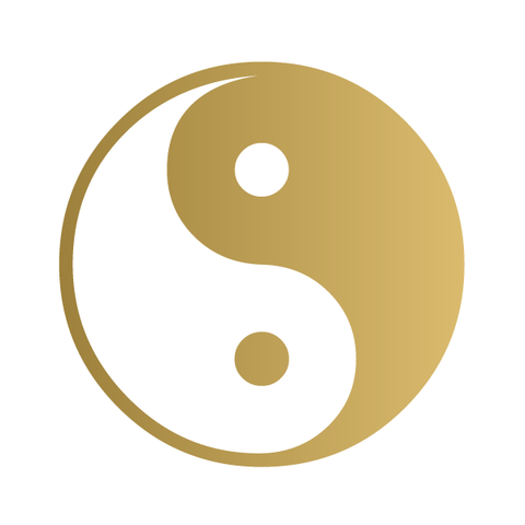 Yin and yang (Gold)