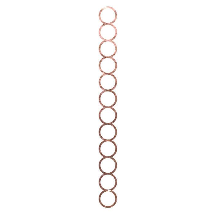 Rose Gold Circle Bracelet - Kromebody