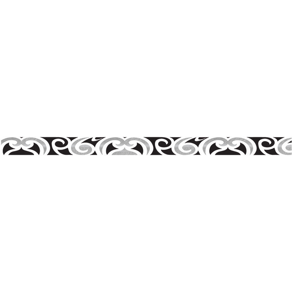 Black Swirls Bracelet - Kromebody