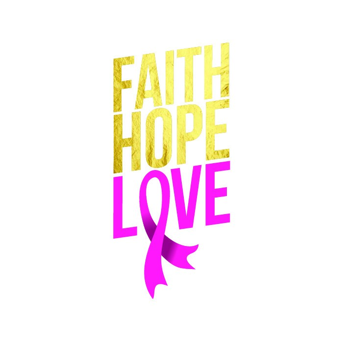Breast Cancer - Faith Hope Love - Kromebody