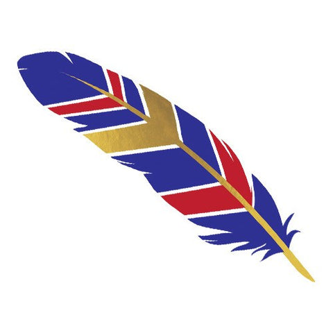 Feather - Red, Blue, and Gold - Kromebody