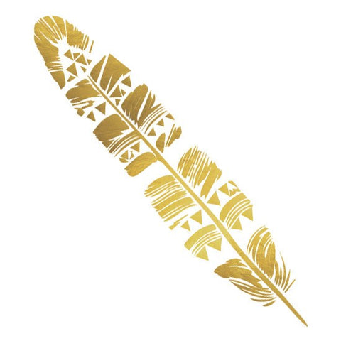 Golden Boho Feather - Kromebody
