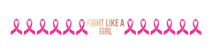 Breast Cancer - Fight Like A Girl Pink Ribbon Bracelet (Rose gold) - Kromebody