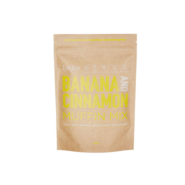 Banana and Cinnamon Muffin Mix by Bake Mixes.