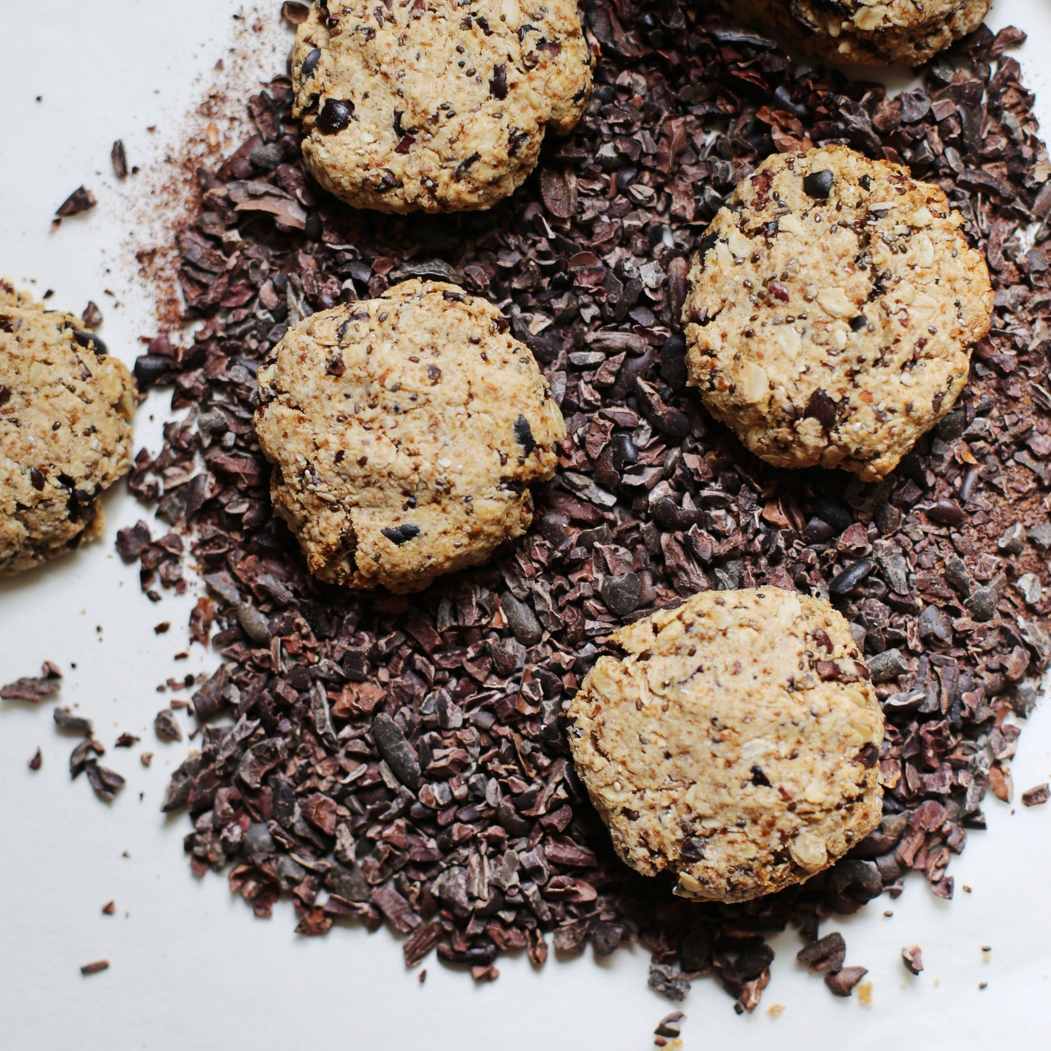 Cacao-Chip, Chia & Oat Cookie Mix