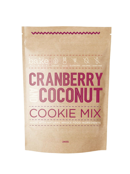 Cranberry & Coconut Cookie Mix