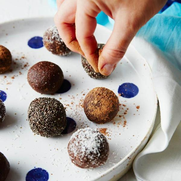 Raw Cacao Bliss Balls Protein Balls Mix Bake Mixes