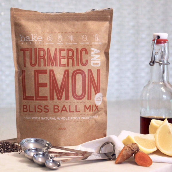 Turmeric & Lemon Bliss Balls Mix (GF)