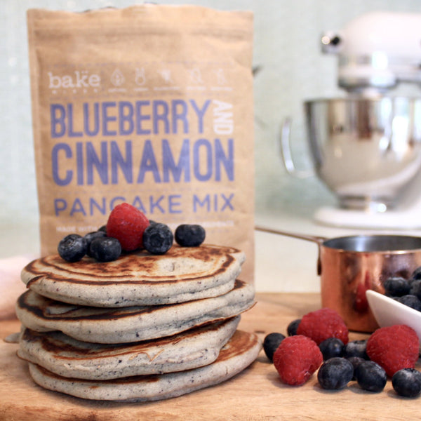 Blueberry & Cinnamon Pancake Mix (GF)