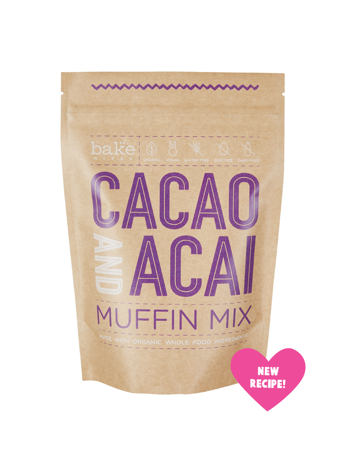 Cacao & Acai Muffin Mix