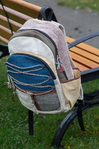 Himalayan Backpack from Natural Hemp for just € 59.99