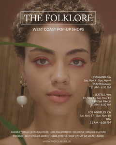 11/3 & 11/4 The Folklore Pop-up