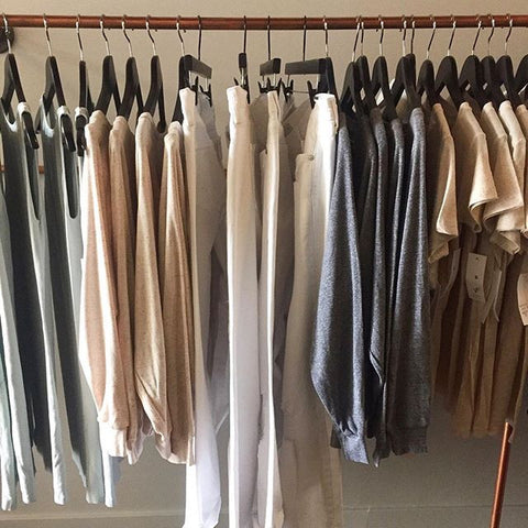 capsule collection to develop minimalist closet