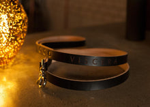 Limited Edition Leather Dog Leashes Benefiting Good NewZ! Pit Bull Rescue - VISCERA