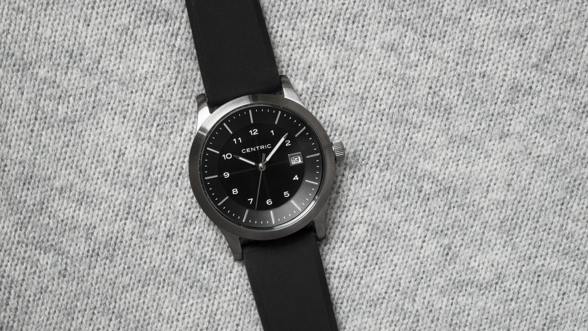 Lightwell Field Watch -- Gunmetal - VISCERA